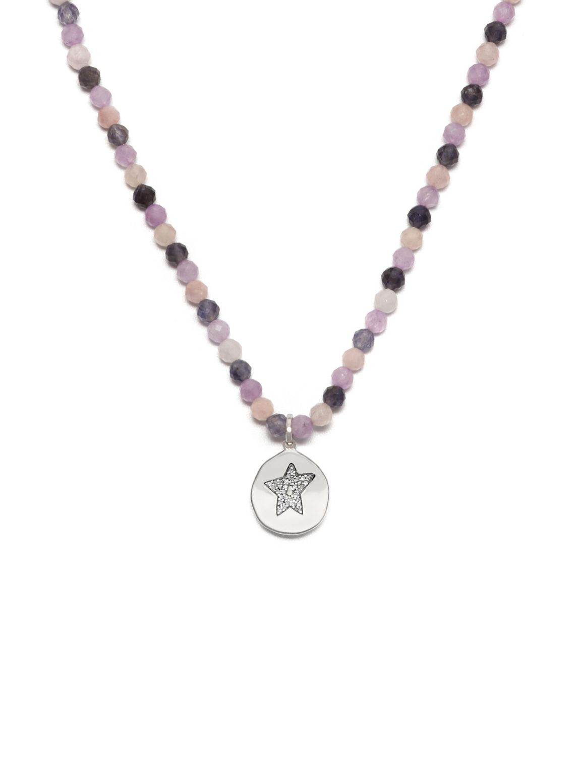 Star Charm Beaded Necklace